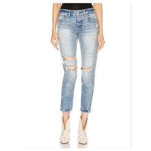 NWT Moussy Vintage Wilburtha Tapered Jeans